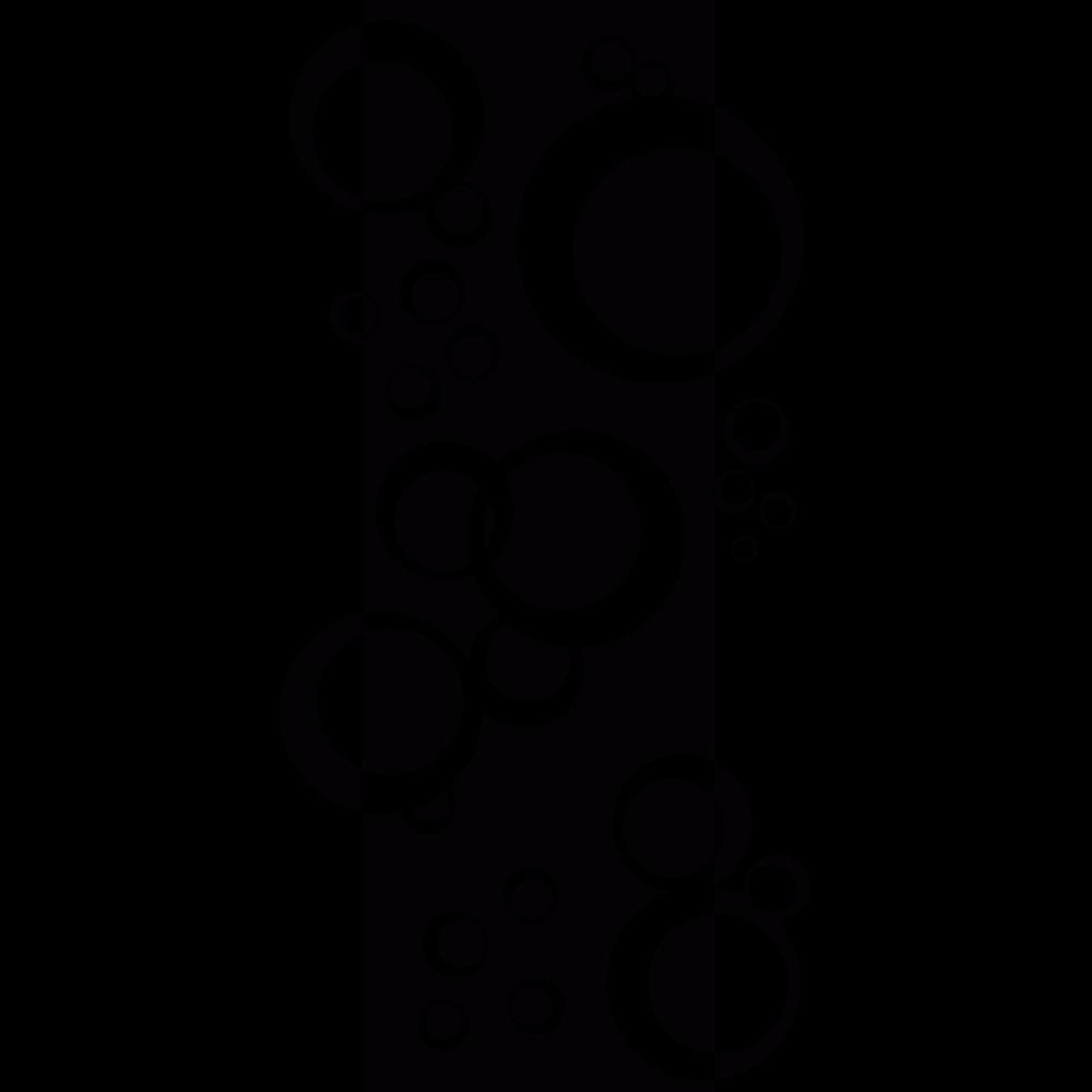 Salle De Bain Sol Marbre Noir ~ stickers bande de bulles art stick