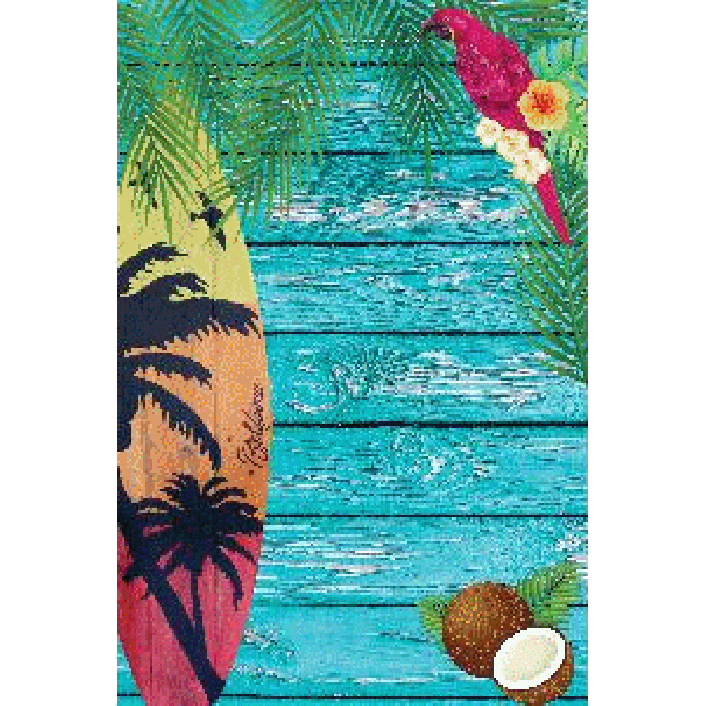 Personnalisation de Surf and Palm Background