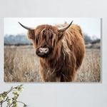 Canvas Cow 01