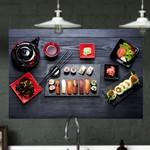 Canvas Sushi Graphic