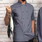 Veste de cuisine button Small Grey ASPR656