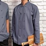 Veste de cuisine button Grey ASPR657