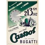 Affiche Castrol