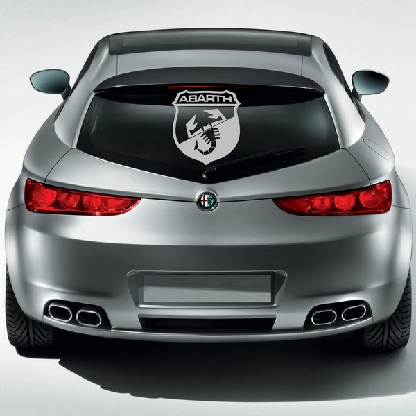 Exemple de stickers muraux: Abarth