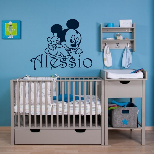 Exemple de stickers muraux: Alessio Mickey Baby