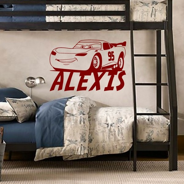 Exemple de stickers muraux: Alexis Cars