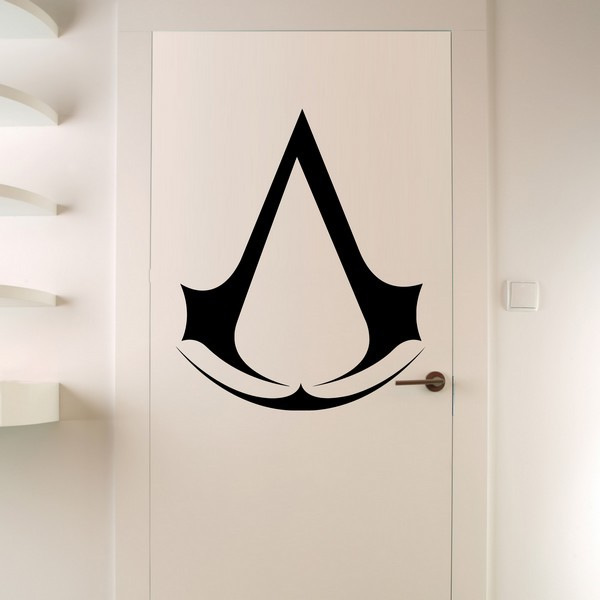 Exemple de stickers muraux: Assassin's Creed Logo 2