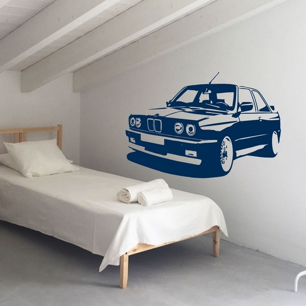 Exemple de stickers muraux: BMW E30