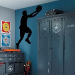 Voorbeeld van de muur stickers: Basket Lay-up (Thumb)
