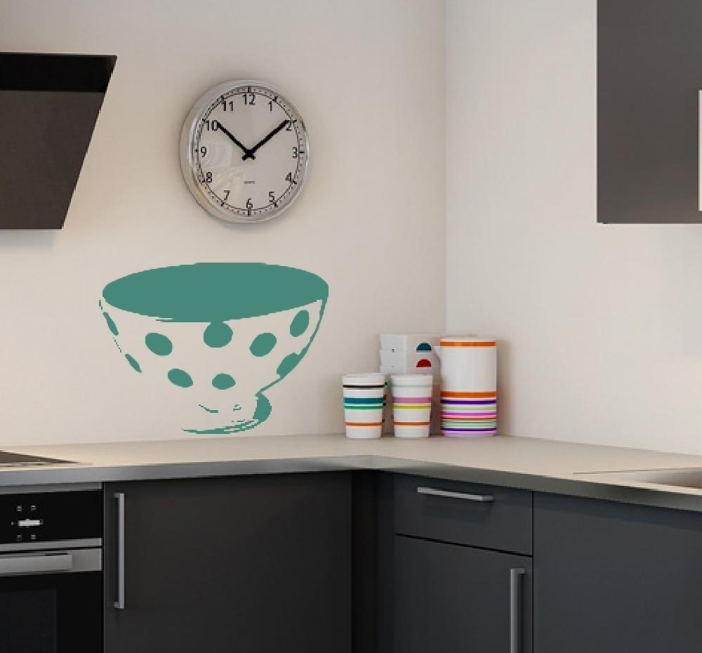 Example of wall stickers: Breakfast Bowl