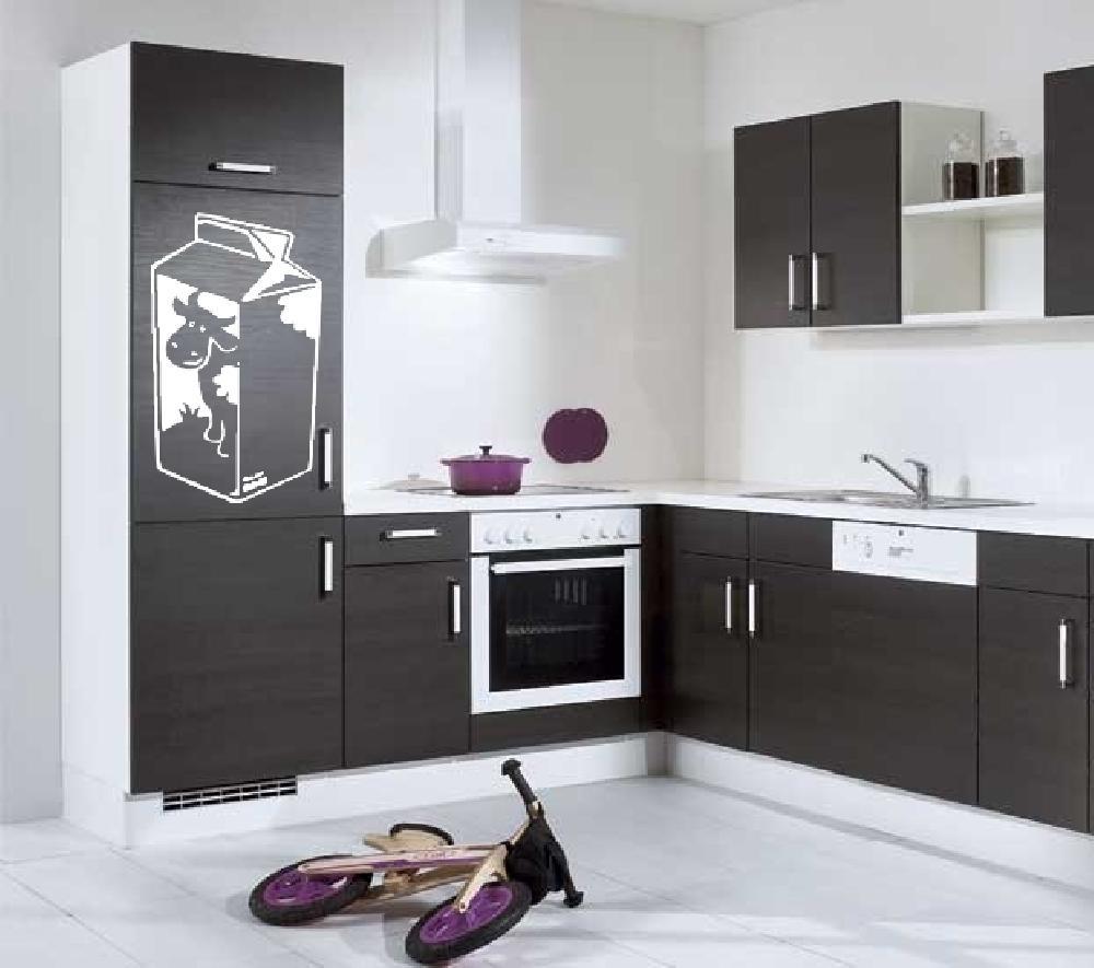 stickers brique de lait art stick. Black Bedroom Furniture Sets. Home Design Ideas