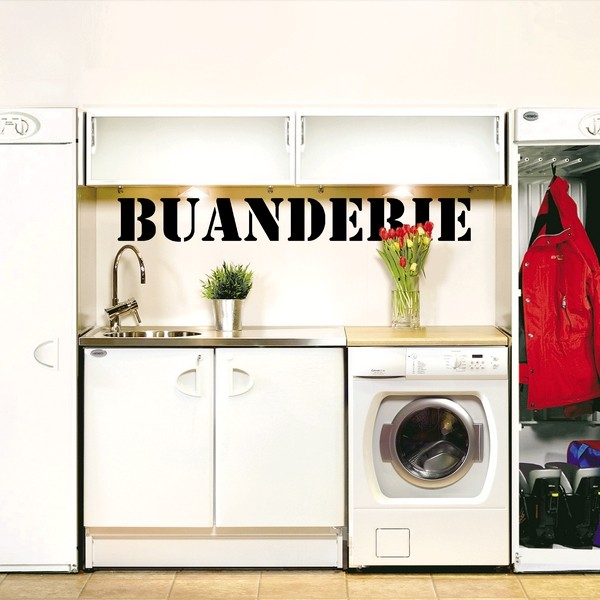 stickers buanderie latest stickers buanderie with stickers buanderie best stickers lave. Black Bedroom Furniture Sets. Home Design Ideas