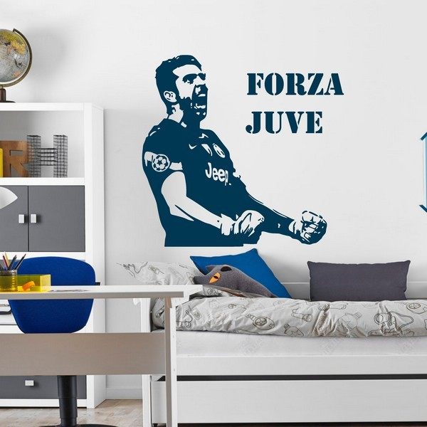 Exemple de stickers muraux: Buffon