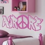 Aurore Graffiti Peace & Love