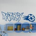 Anthony Graffiti Football