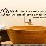 Corps... Proverbe Indien