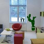 Exemple de stickers muraux: Cactus (Thumb)