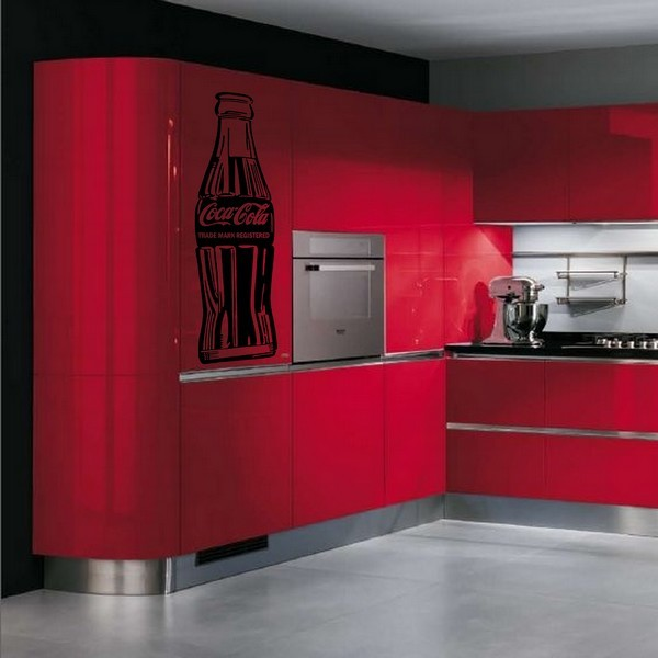 decoration cuisine coca cola. Black Bedroom Furniture Sets. Home Design Ideas
