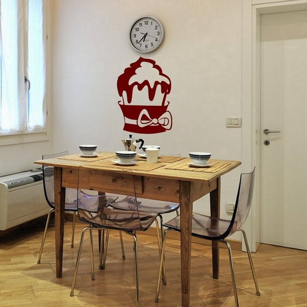 Example of wall stickers: Cupcake  Small Node