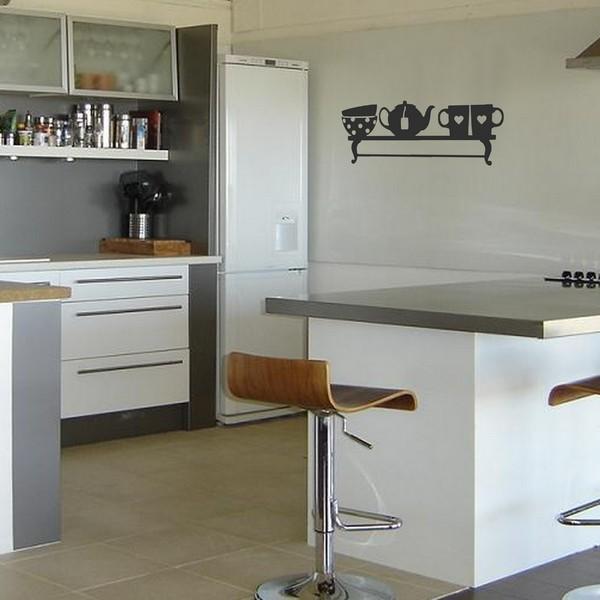 Stickers keuken kast art stick - Mode keuken deco ...