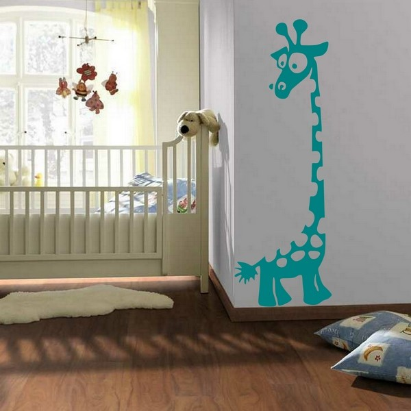 Stickers Stickers-Kinderkamer-Giraf-Fun - Art & Stick