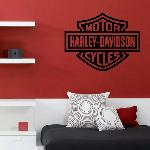 Example Of Wall Stickers: Harley Davidson (Thumb) Part 47