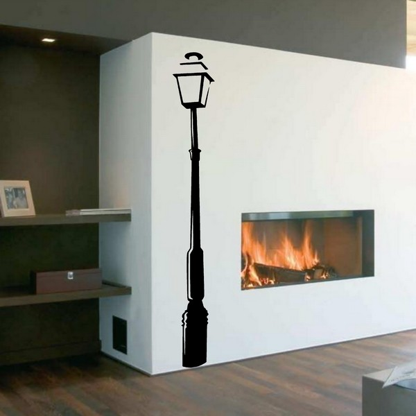 Example of wall stickers: Street light 2