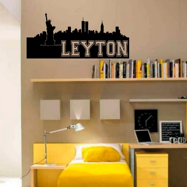Exemple de stickers muraux: Leyton New York