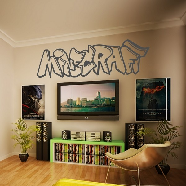 Stickers Minecraft Graffiti - Art & Stick