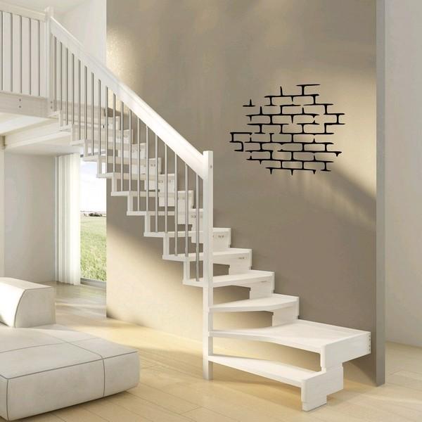 stickers mur de briques art stick. Black Bedroom Furniture Sets. Home Design Ideas