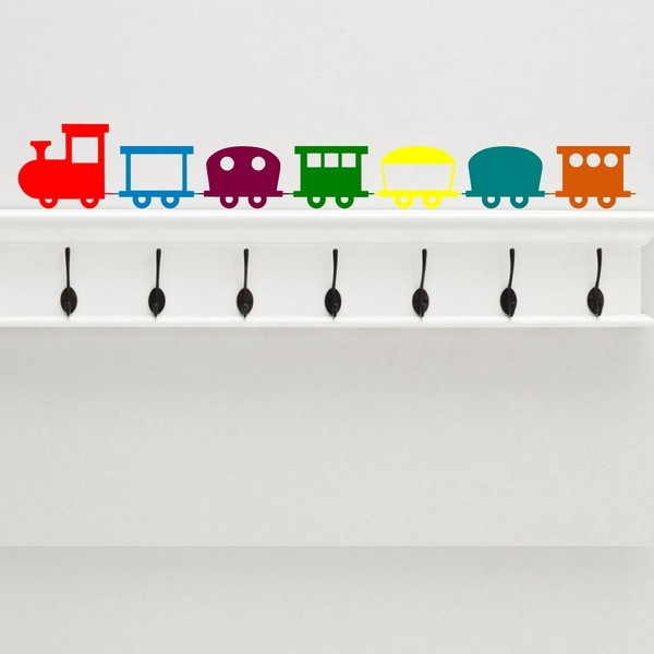 Exemple de stickers muraux: Petit Train - Wagon 4