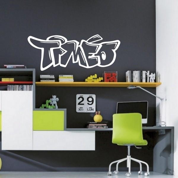 Stickers tim o graffiti 2 art stick - Chambre timeo ...