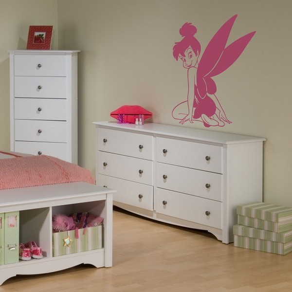 stickers f e clochette 2 art stick. Black Bedroom Furniture Sets. Home Design Ideas