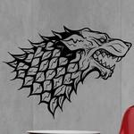 Game Of Thrones - Wolf Head
