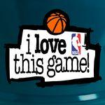 I Love This Game NBA Imprimé