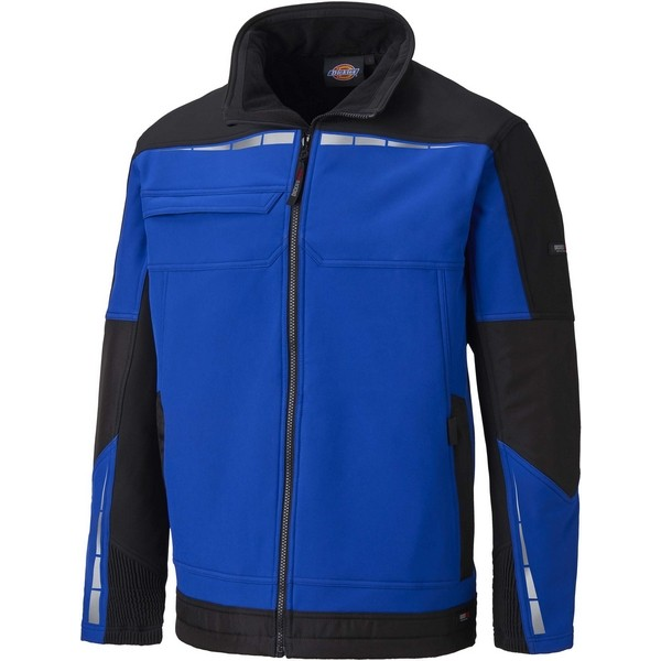 Dickies Jacket Solfshell Royal Blue/Black ASDDP1001