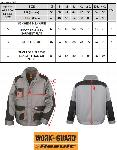 Result Veste Lite Grey/Black/Orange ASR316X (Thumb)