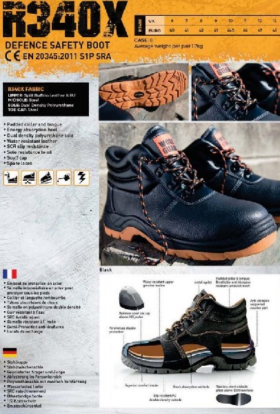 Result Chaussures Defence Black ASR340X
