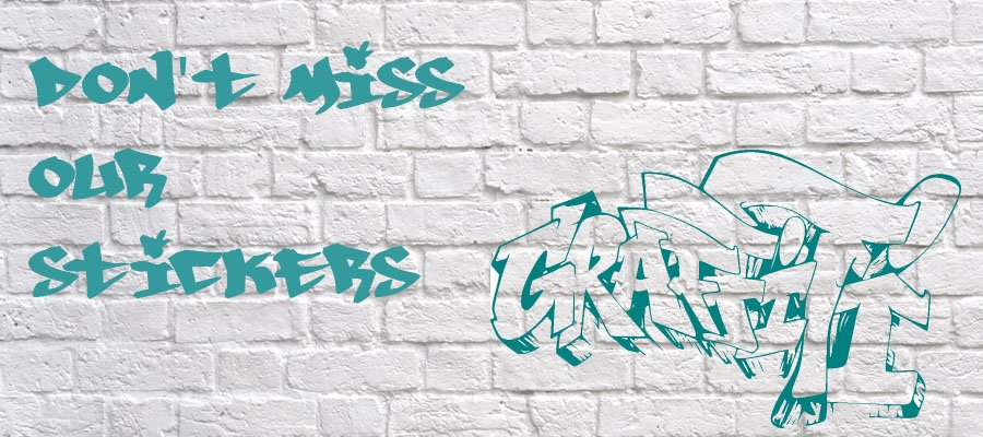 Our 'Graffiti' stickers